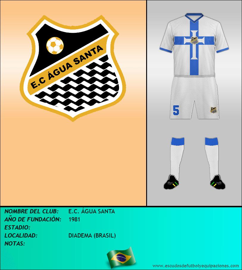 Escudo de E.C. ÁGUA SANTA