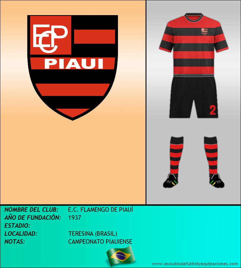 Escudo de E.C. FLAMENGO DE PIAUÍ