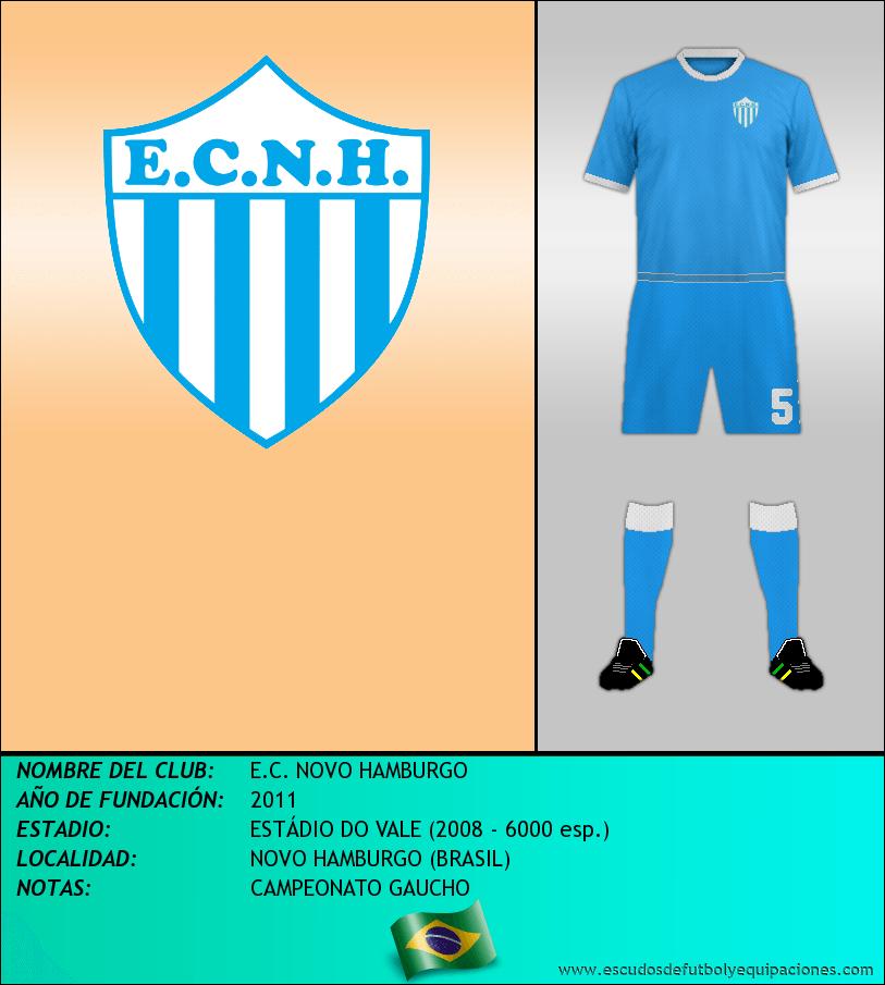Escudo de E.C. NOVO HAMBURGO