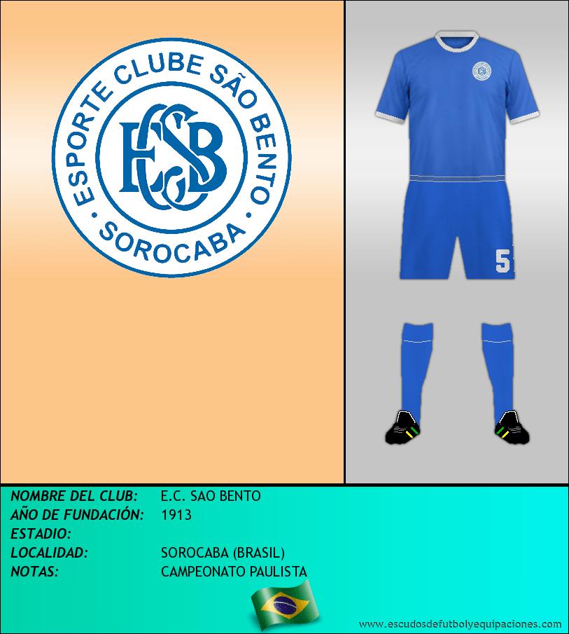 Escudo de E.C. SAO BENTO