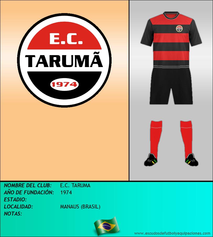 Escudo de E.C. TARUMA