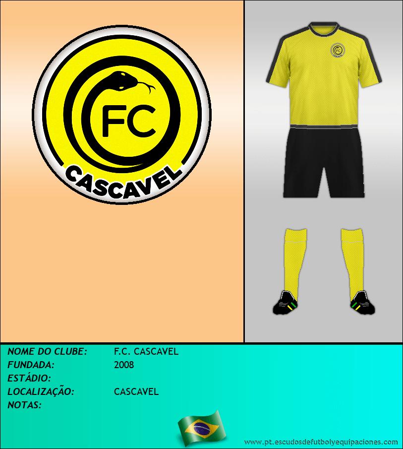 Escudo de F.C. CASCAVEL