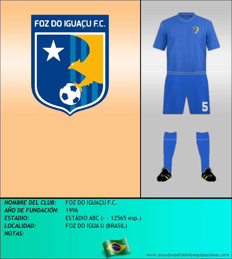 Escudo de FOZ DO IGUAÇU F.C.