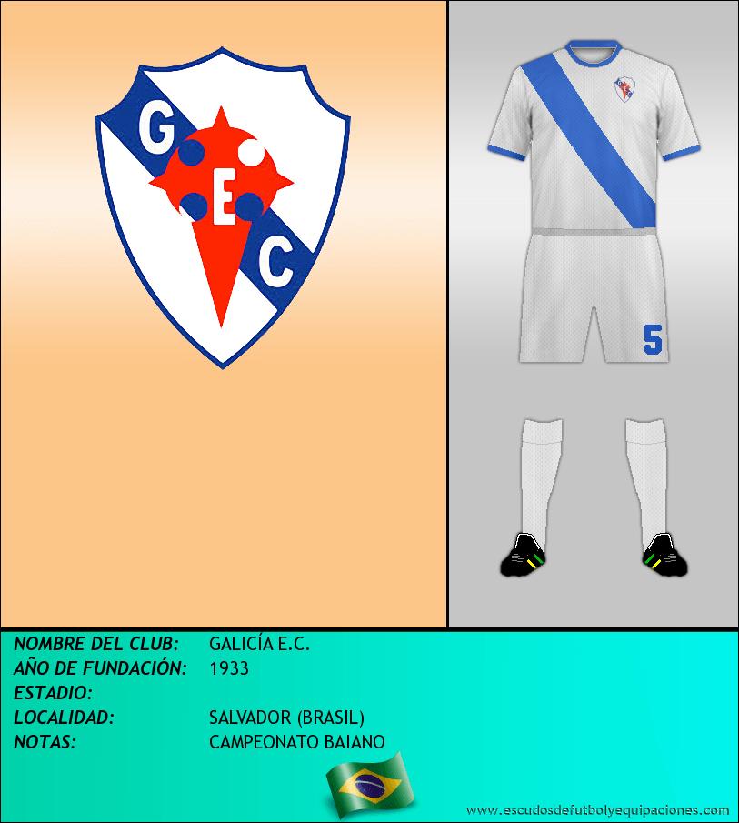 Escudo de GALICÍA E.C.