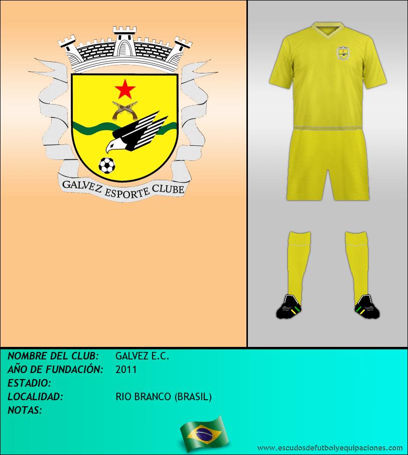 Escudo de GALVEZ E.C.