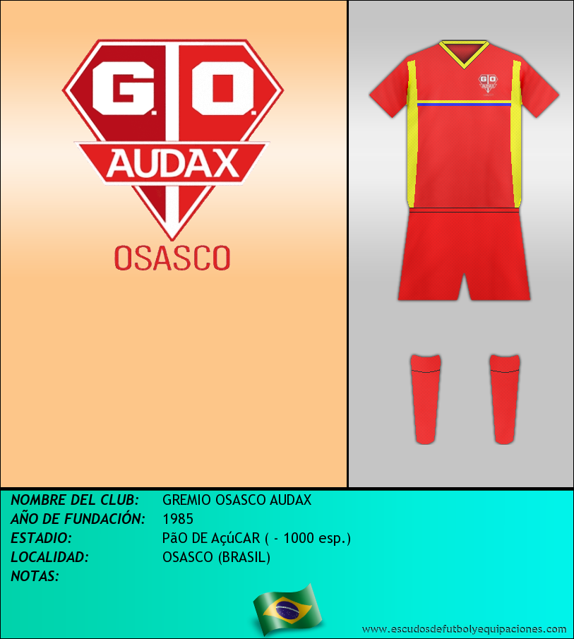Escudo de GREMIO OSASCO AUDAX