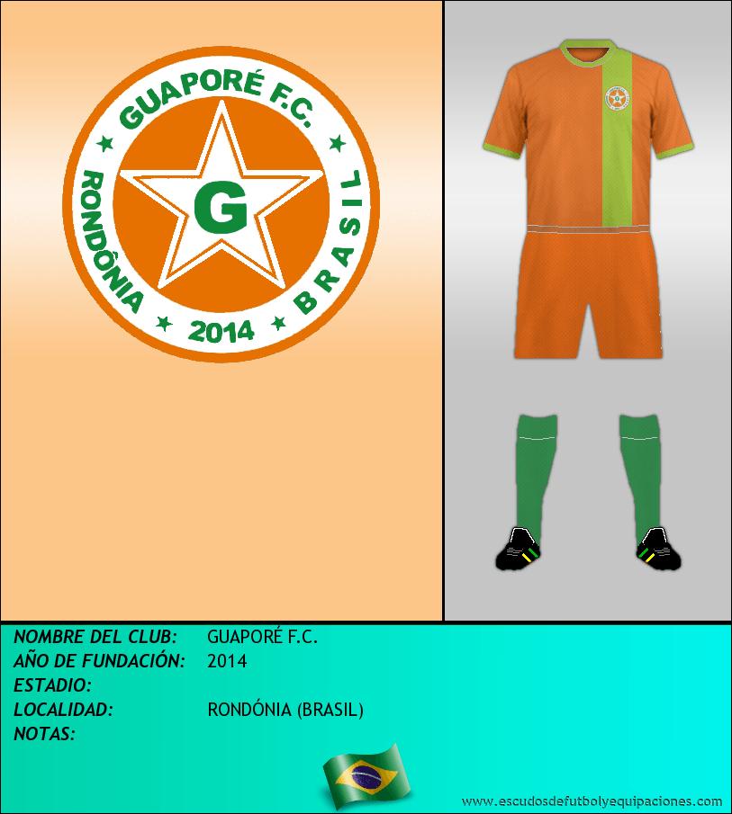 Escudo de GUAPORÉ F.C.