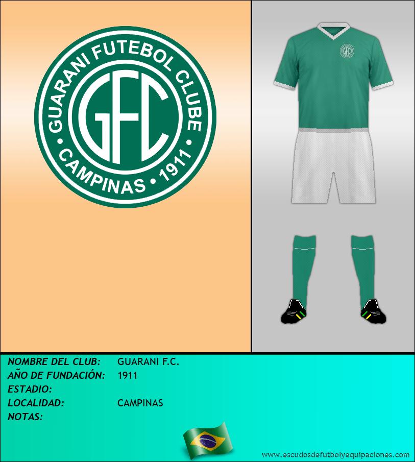 Escudo de GUARANI F.C.