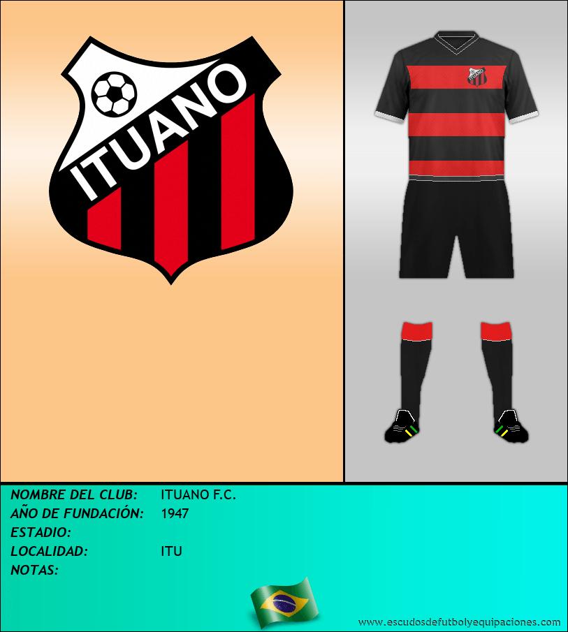 Escudo de ITUANO F.C.