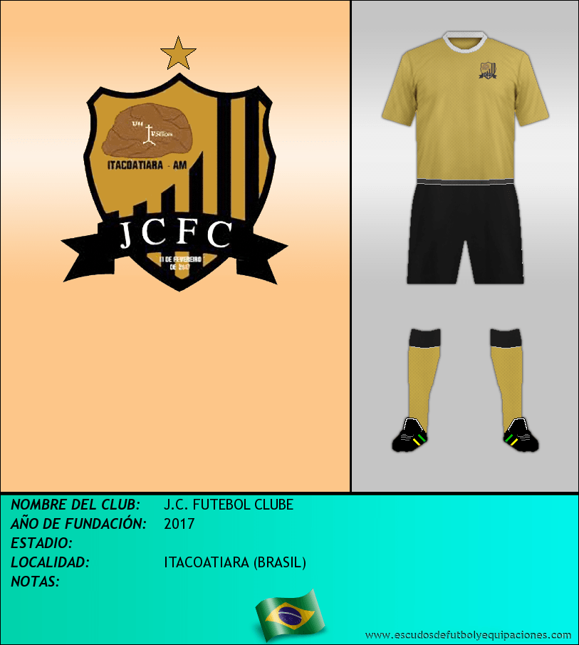 Escudo de J.C. FUTEBOL CLUBE