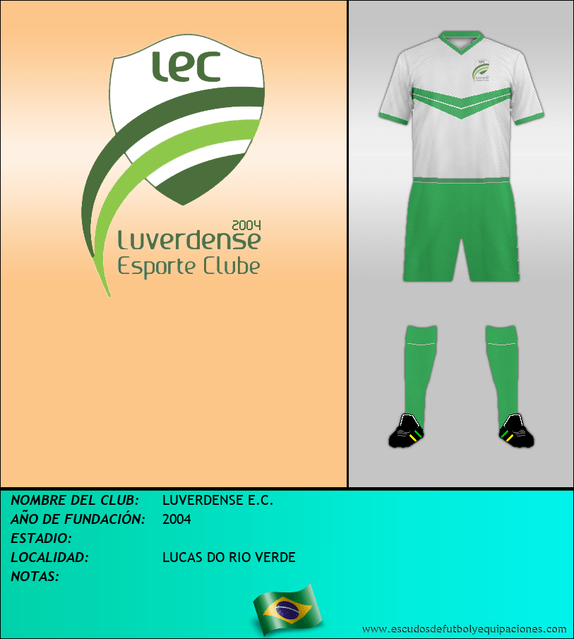Escudo de LUVERDENSE E.C.