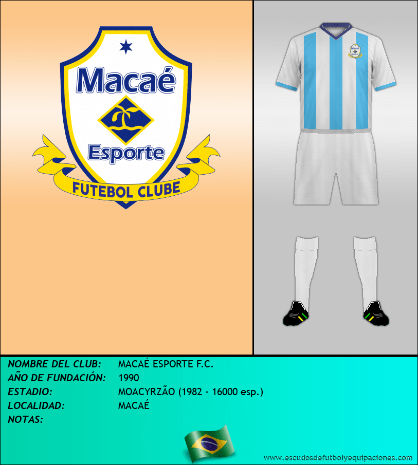 Escudo de MACAÉ ESPORTE F.C.