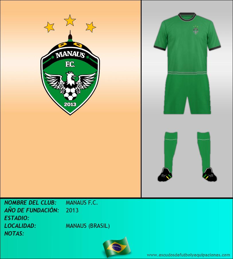 Escudo de MANAUS F.C.