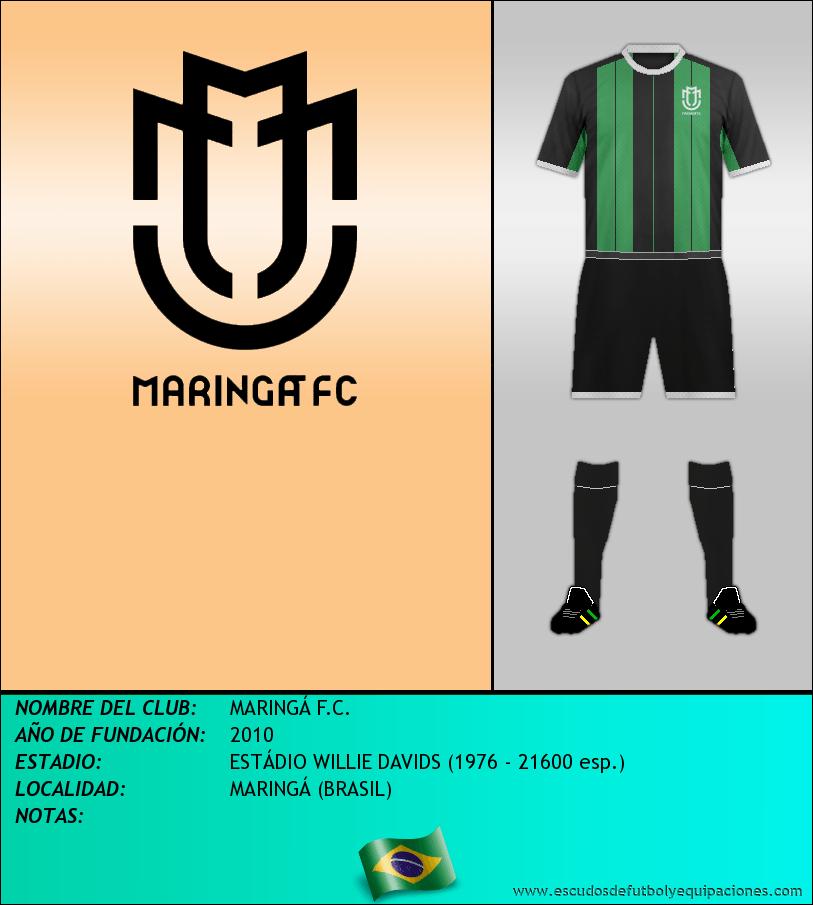 Escudo de MARINGÁ F.C.