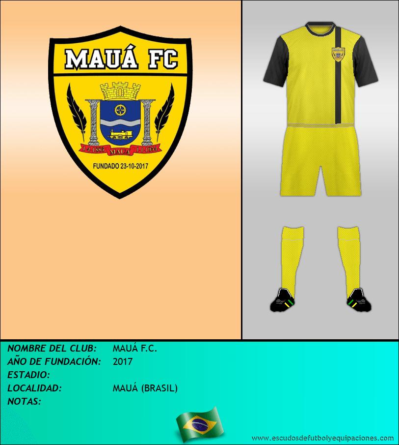 Escudo de MAUÁ F.C.