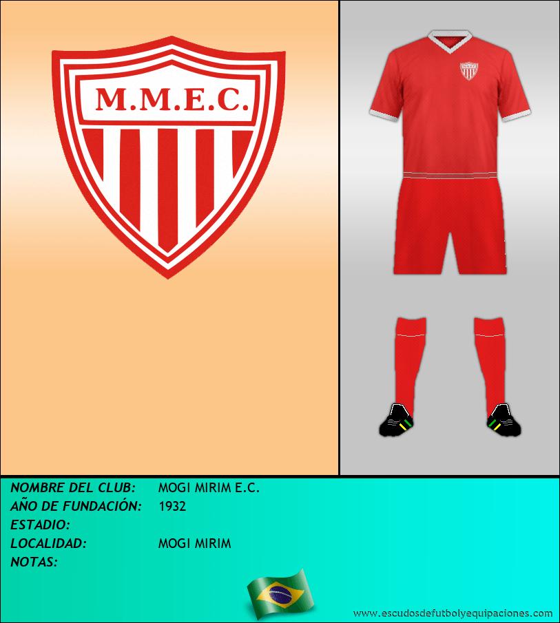 Escudo de MOGI MIRIM E.C.