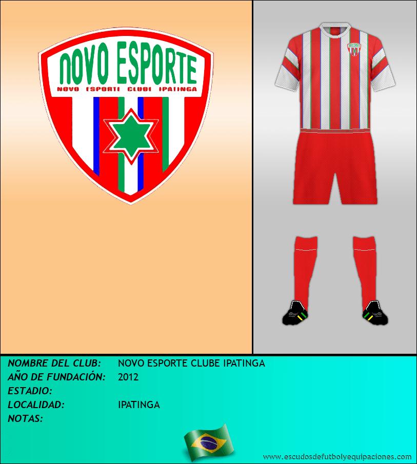 Escudo de NOVO ESPORTE CLUBE IPATINGA