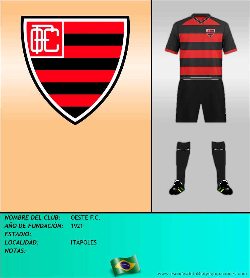 Escudo de OESTE F.C.