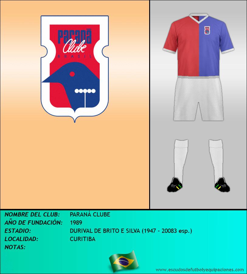 Escudo de PARANÁ CLUBE