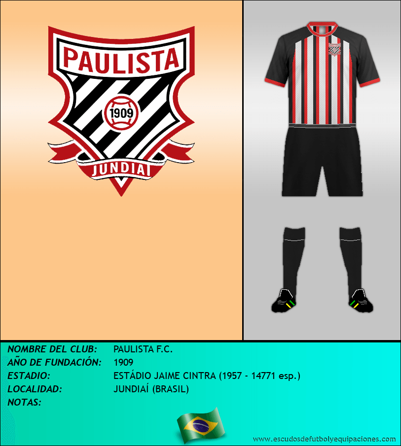Escudo de PAULISTA F.C.
