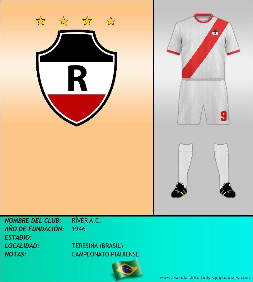 Escudo de RÍVER A.C.
