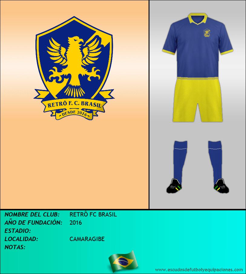 Escudo de RETRÔ FC BRASIL