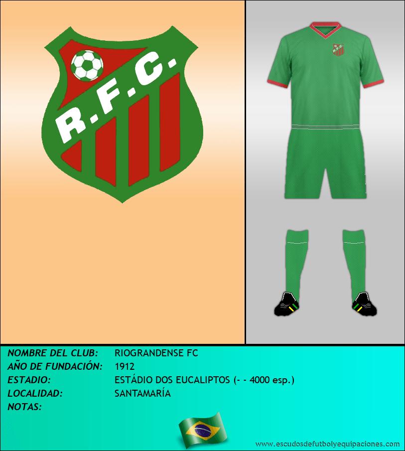 Escudo de RIOGRANDENSE FC