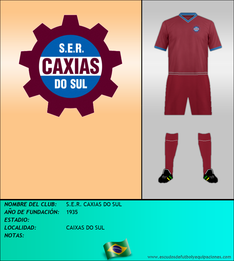 Escudo de S.E.R. CAXIAS DO SUL