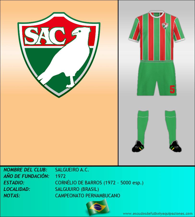 Escudo de SALGUEIRO A.C.