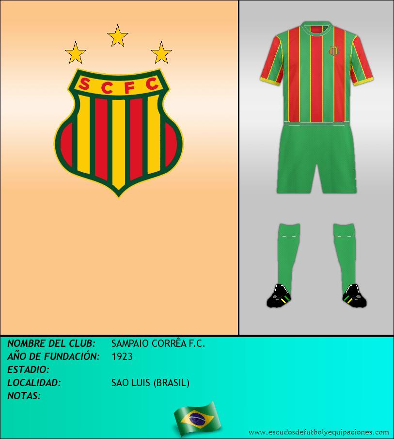 Escudo de SAMPAIO CORRÊA F.C.