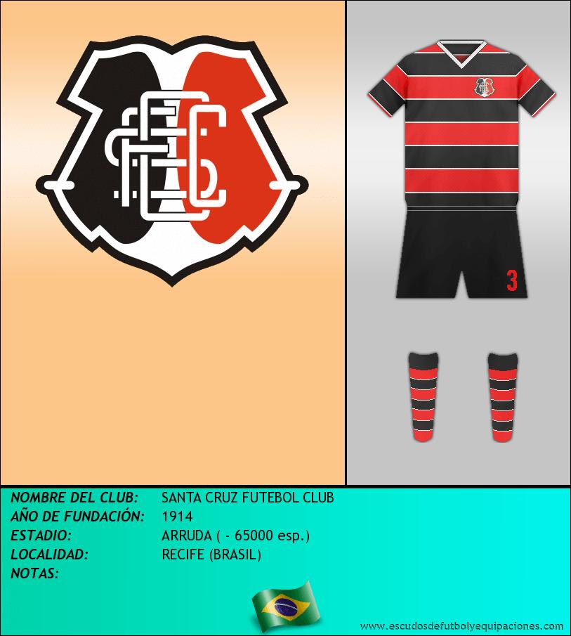 Escudo de SANTA CRUZ FUTEBOL CLUB