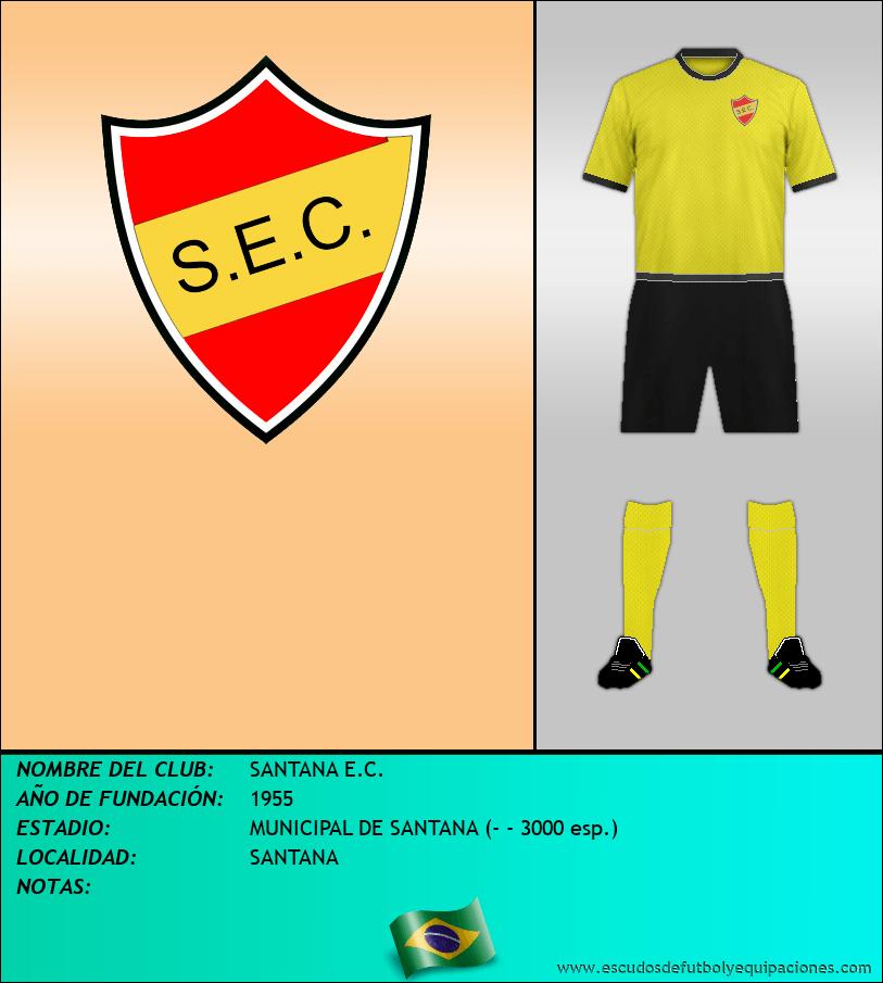 Escudo de SANTANA E.C.