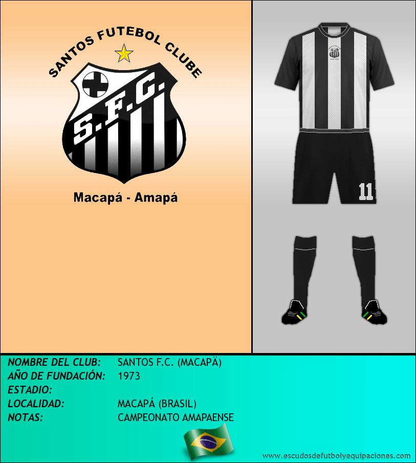 Escudo de SANTOS F.C. (MACAPÄ)