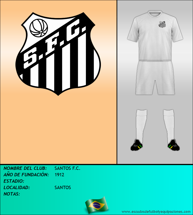 Escudo de SANTOS F.C.