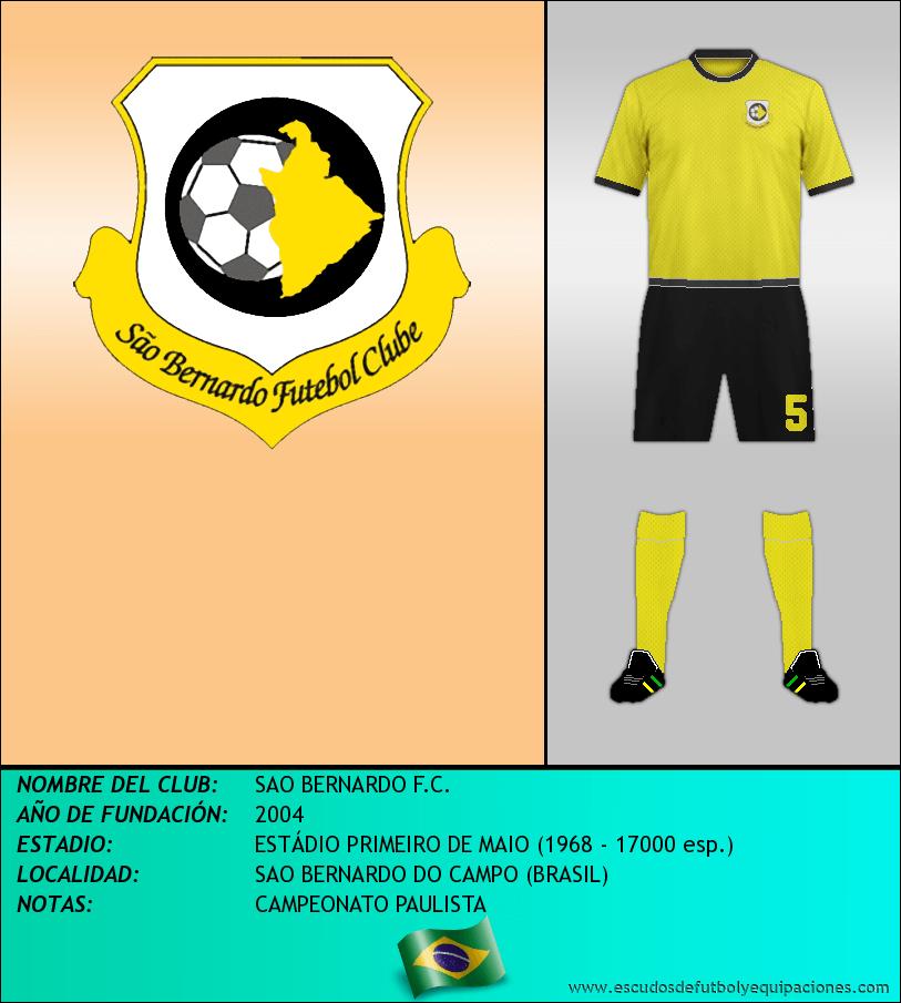 Escudo de SAO BERNARDO F.C.