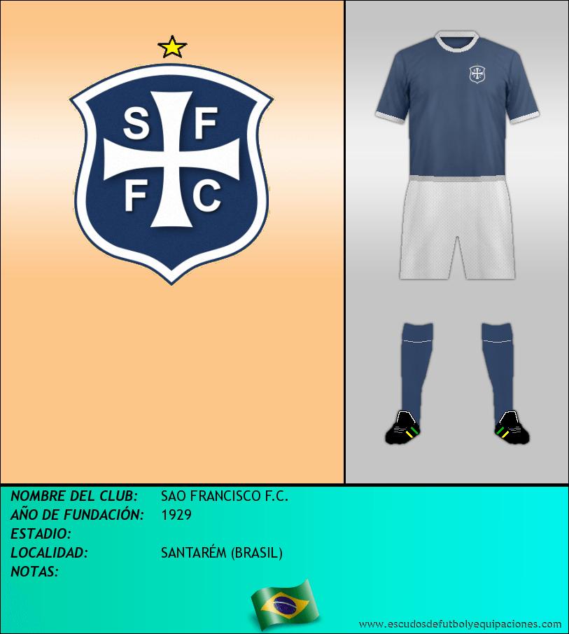 Escudo de SAO FRANCISCO F.C.