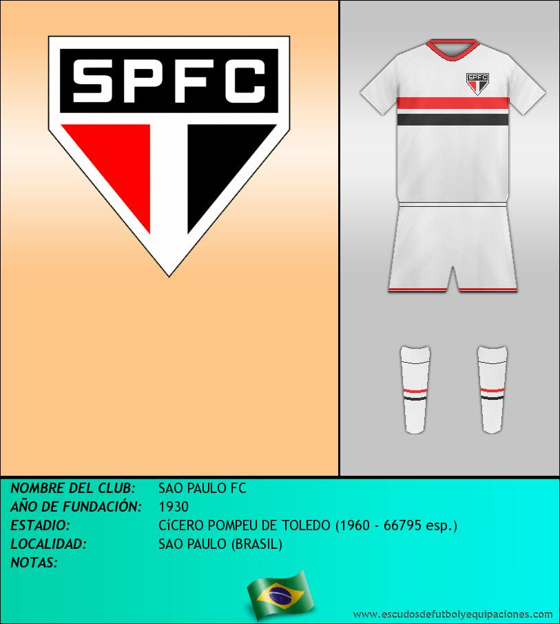 Escudo de SAO PAULO FC