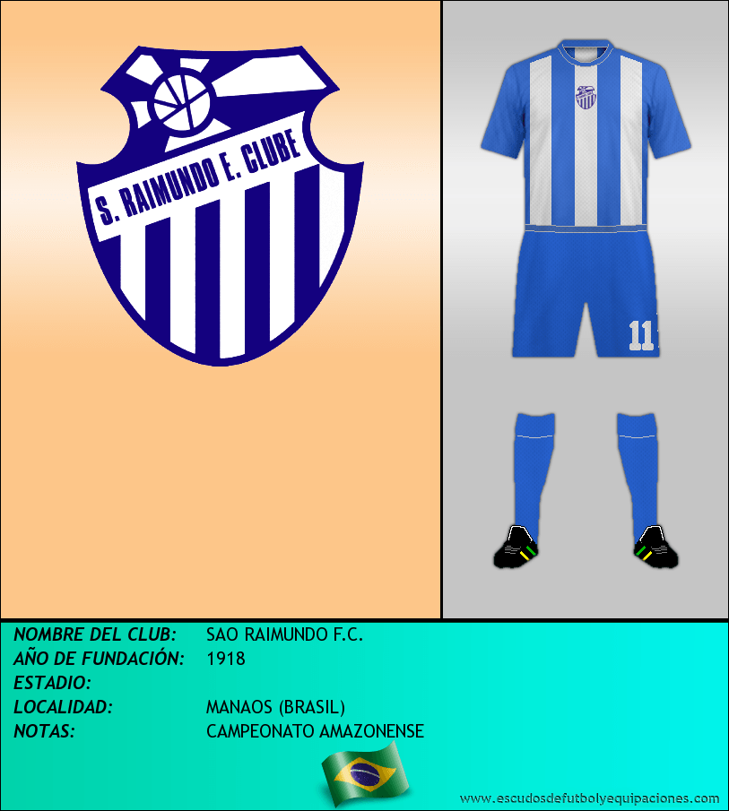 Escudo de SAO RAIMUNDO F.C.