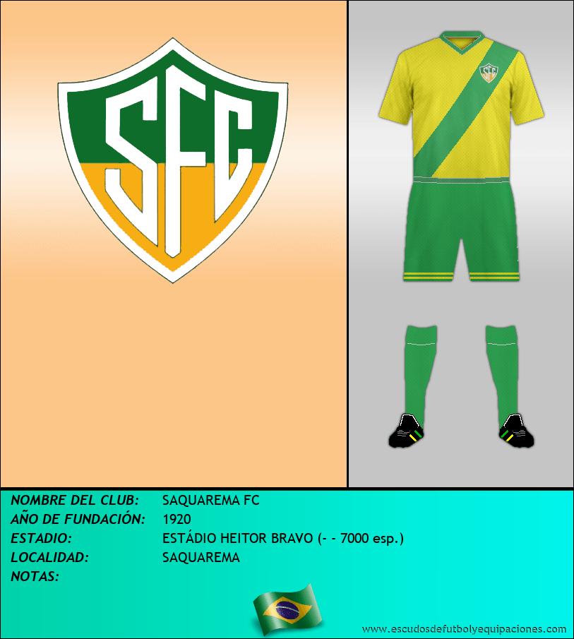 Escudo de SAQUAREMA FC