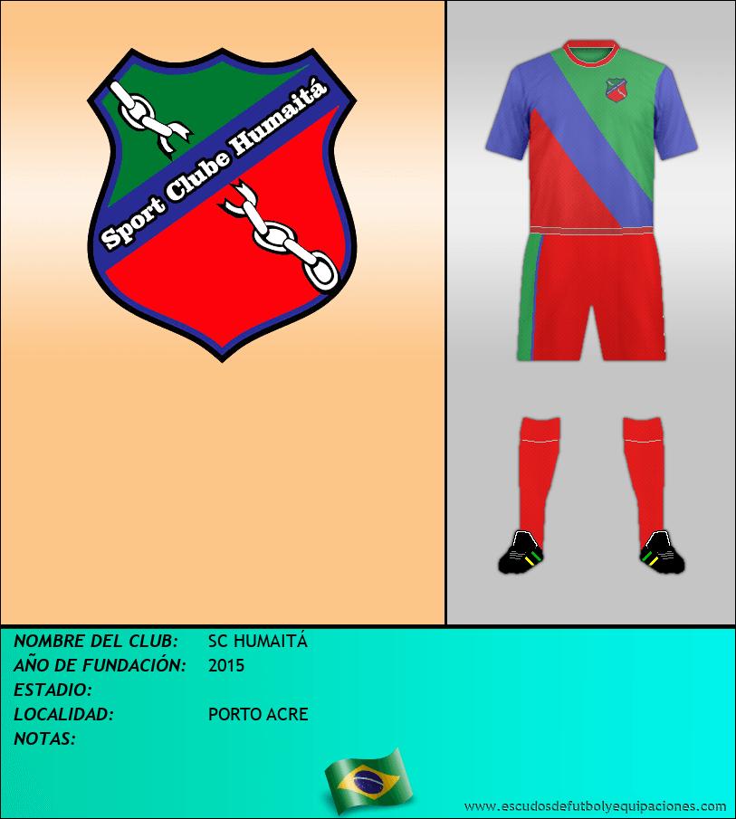 Escudo de SC HUMAITÁ