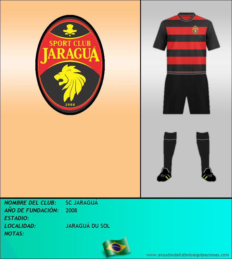 Escudo de SC JARAGUÁ