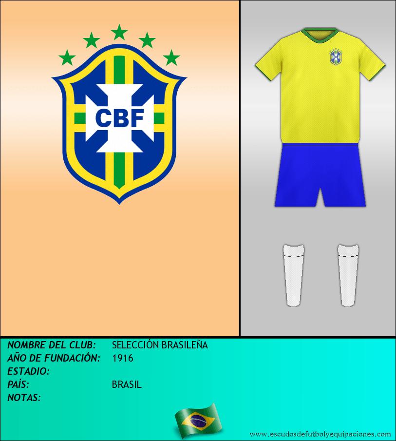 Escudo de SELECCIÓN BRASILEÑA