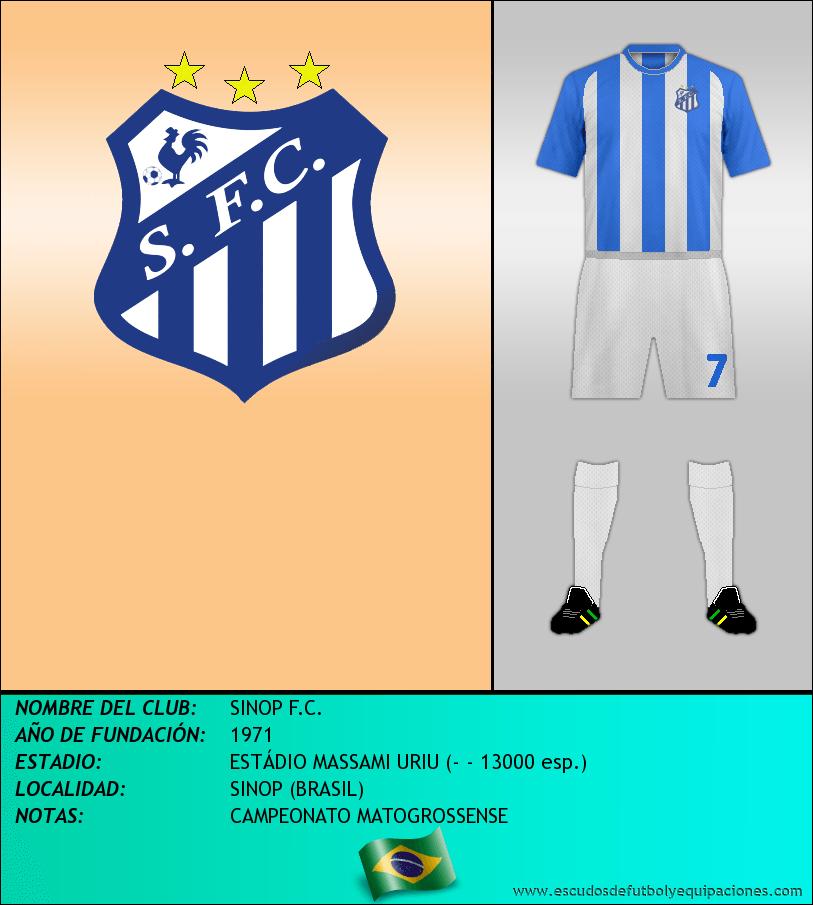 Escudo de SINOP F.C.