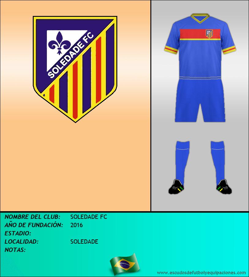 Escudo de SOLEDADE FC