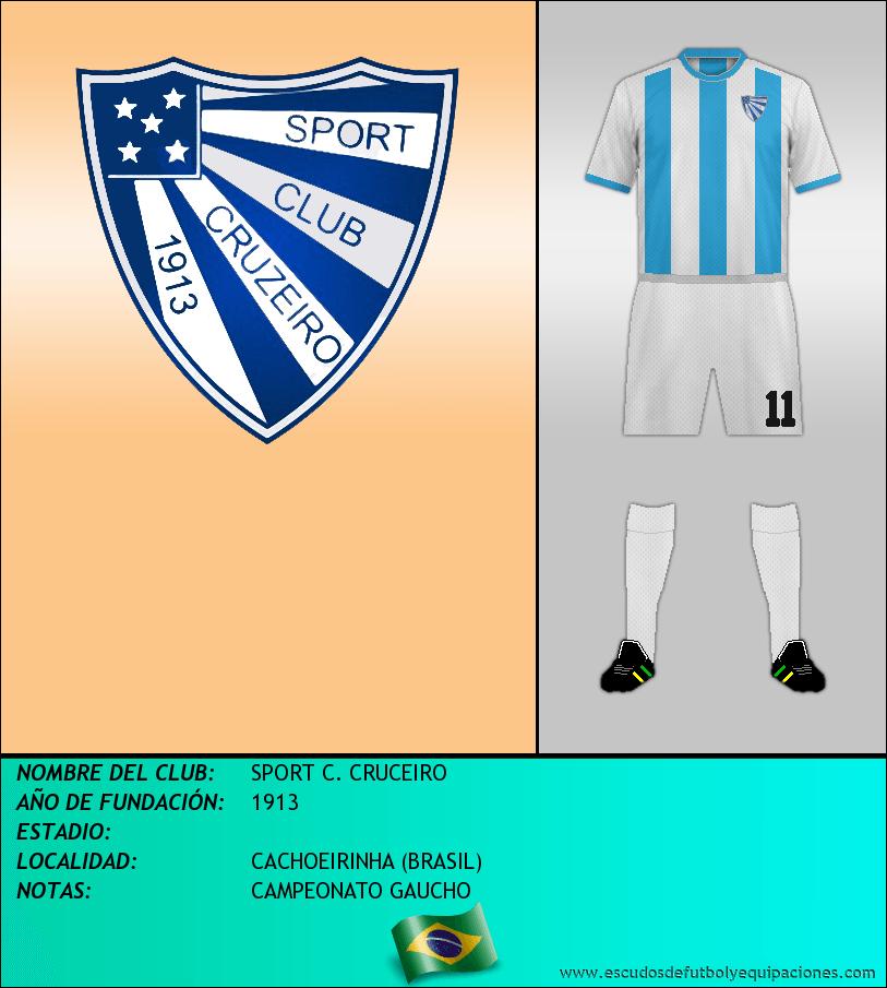 Escudo de SPORT C. CRUCEIRO