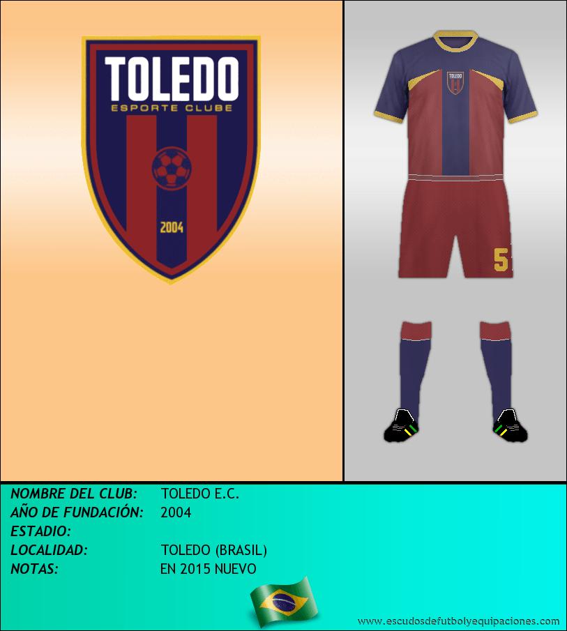 Escudo de TOLEDO E.C.