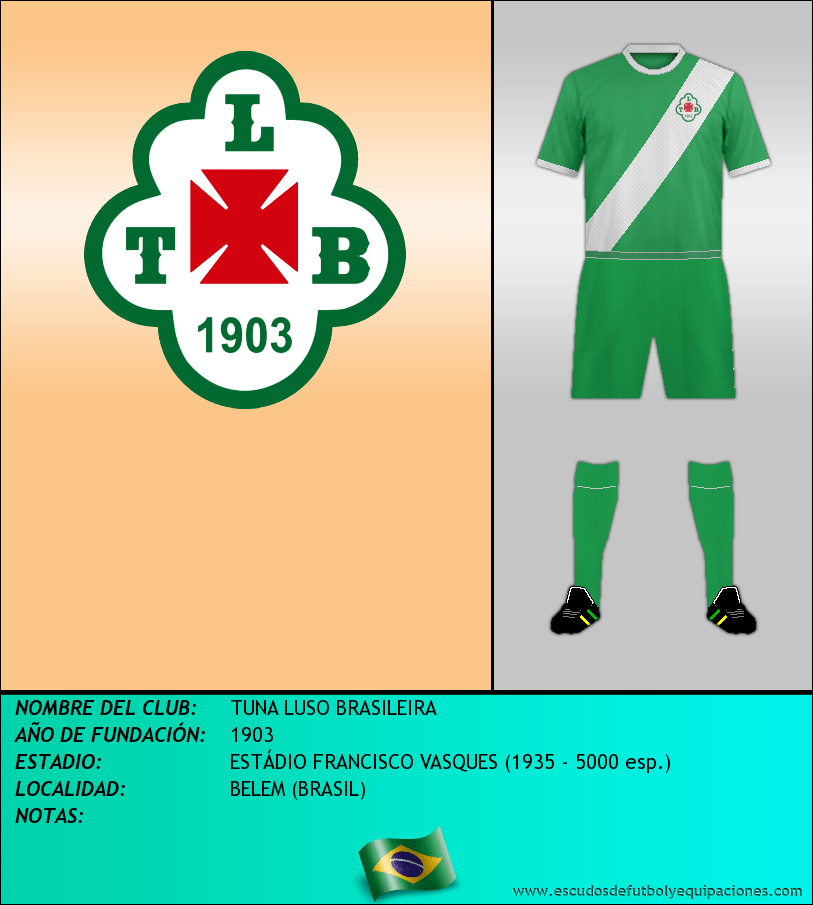Escudo de TUNA LUSO BRASILEIRA