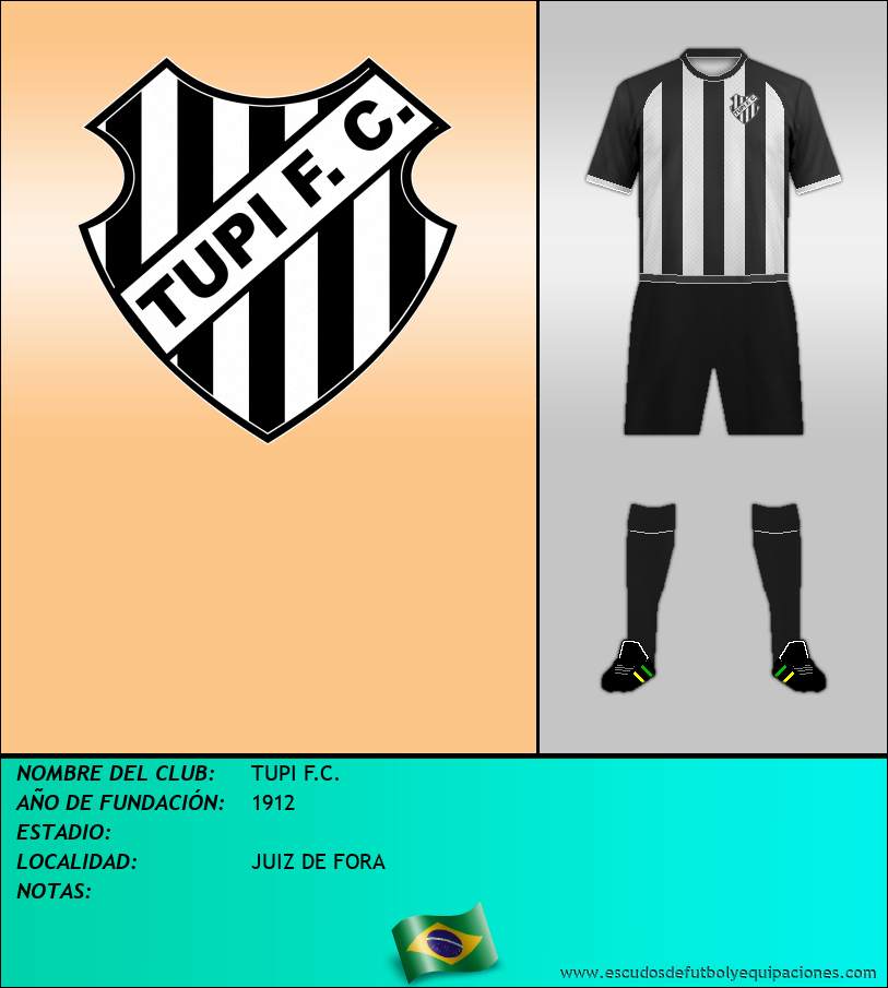 Escudo de TUPI F.C.