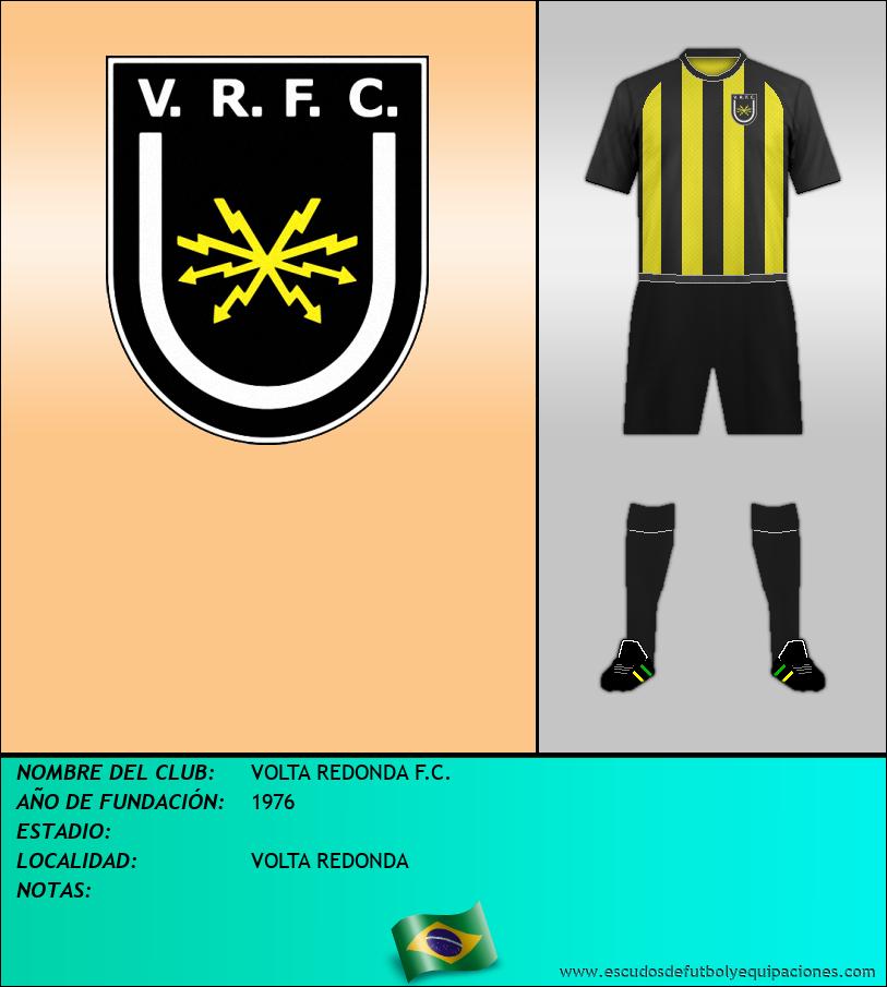 Escudo de VOLTA REDONDA F.C.