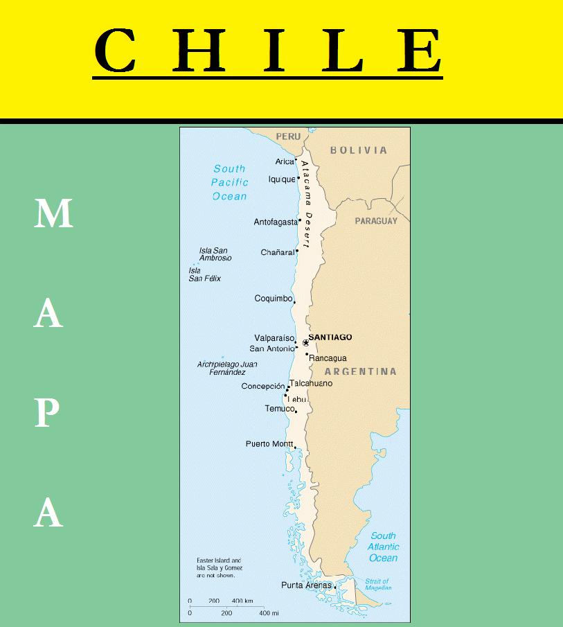 Escudo de MAPA DE CHILE